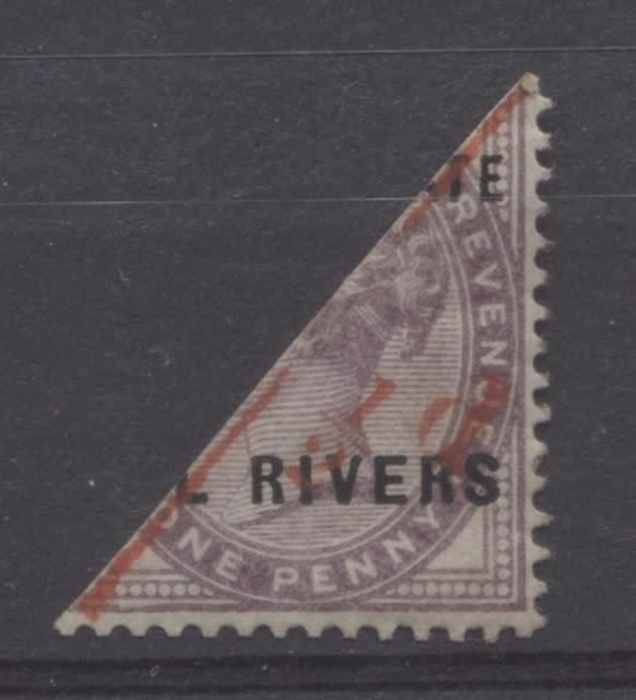 The Overprinted Great Britain Issues Of Niger Coast Protectorate 1892-1894 Part Five
