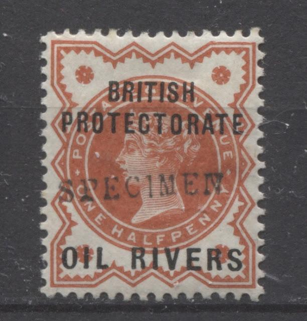 The Overprinted Great Britain Issues Of Niger Coast Protectorate 1892-1894 Part Two