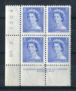 The Plate Blocks and Plate Sheets of The Karsh and Heritage Definitive Issue -1953-1967