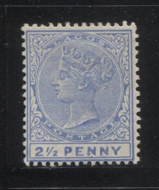 The Printings Of The 2.5d Ultramarine Queen Victoria Keyplate Stamp of Lagos 1891-1904 Part Five