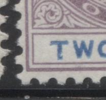 The Printings Of The 2d Lilac and Blue Keyplate Stamp of Lagos 1891-1904 Part Two