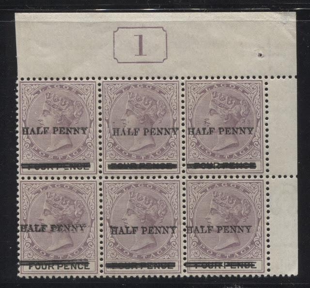 The Printings of the 4d Lilac and Black Queen Victoria Keyplate Stamp of Lagos - Part Four