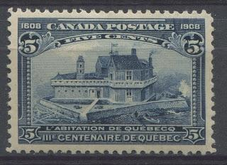 The Quebec Tercentenary Issue of 1908 - An Overview