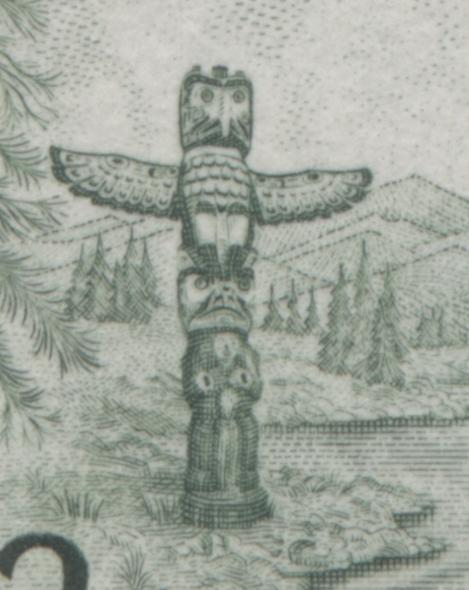 The Totem Pole Eye Varieties on the 2c Centennial Issue Stamp of 1967-1973