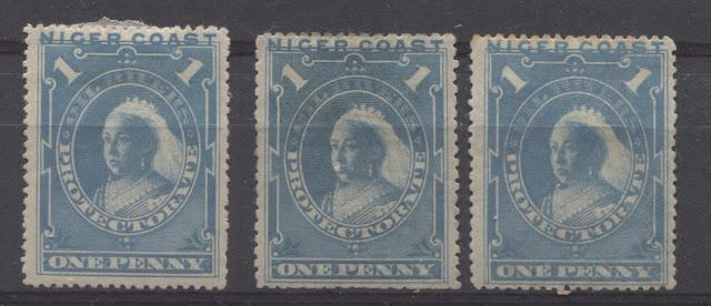 The Unwatermarked Queen Victoria First Waterlow Issue of Niger Coast Protectorate Part Four - The 1d Blue