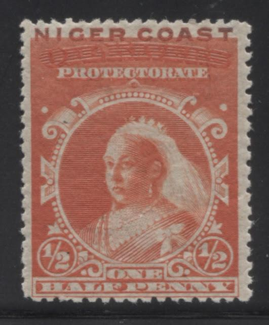 The Unwatermarked Queen Victoria First Waterlow Issue of Niger Coast Protectorate Part One