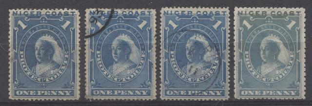 The Unwatermarked Queen Victoria First Waterlow Issue of Niger Coast Protectorate Part Three - The 1d Blue