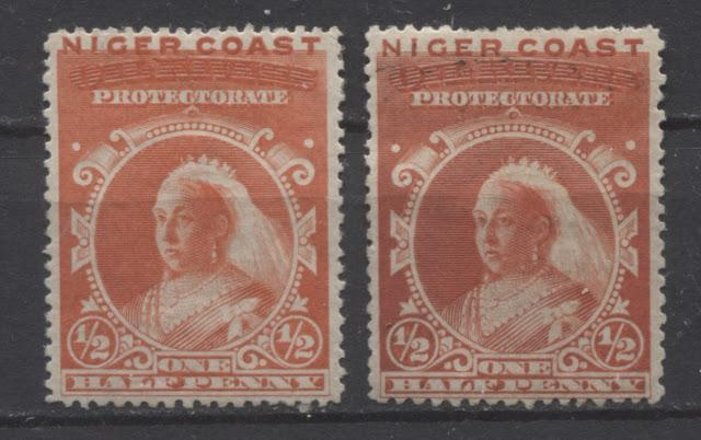 The Unwatermarked Queen Victoria First Waterlow Issue of Niger Coast Protectorate Part Two