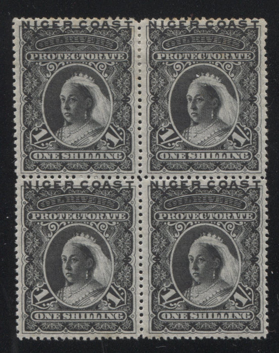 The Unwatermarked Queen Victoria Waterlow Issue of Niger Coast Protectorate Part Nine