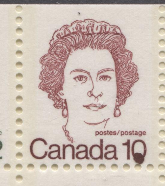 Varieties Found on the Low Value Stamps From the 1972-1978
