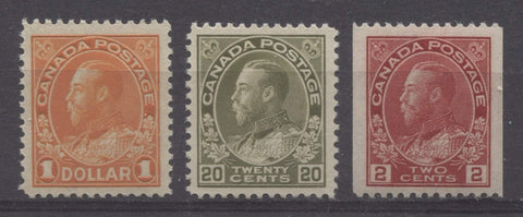 "Canada - King George V ""Admiral Period"" 1911-1926"