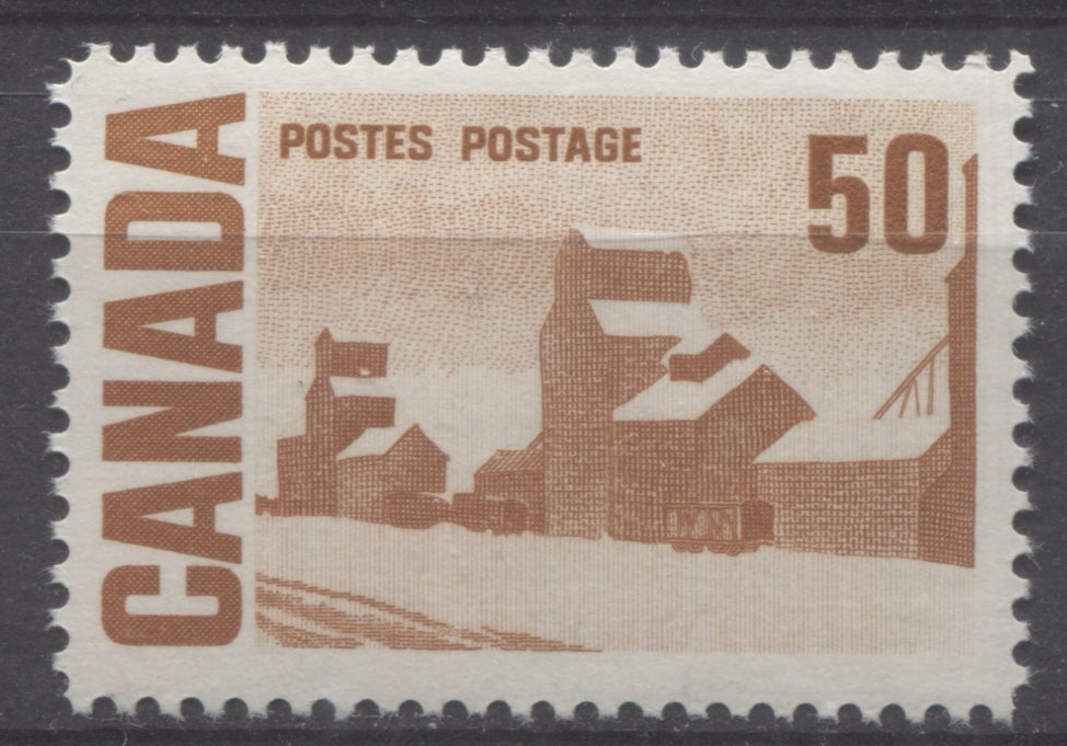 The 50c Summers Stores stamp of Canada from the 1967-73 Centennial Issue