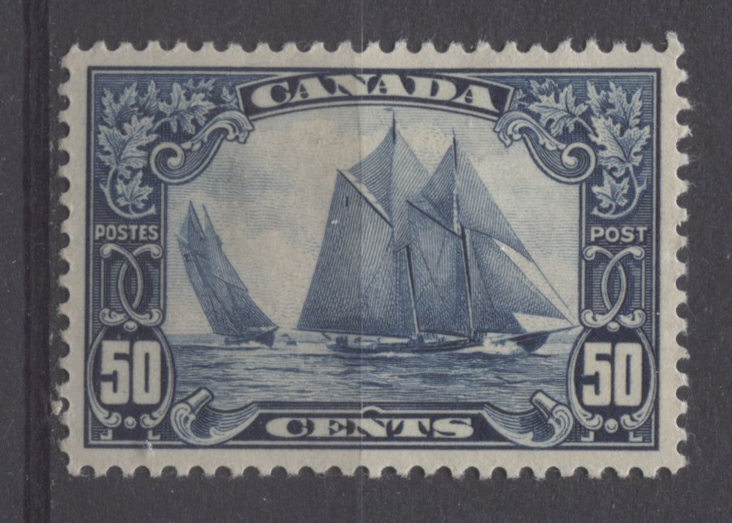The iconic 50c Bluenose stamp of Canada from 1929