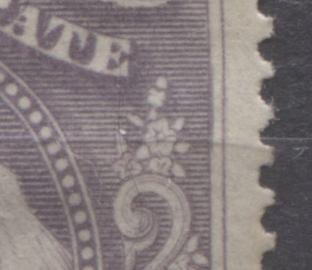 Position 41 re-entry on the 5d lilac Queen Victoria stamp of the 1894 Waterlow Issue of the Niger Coast Protectorate