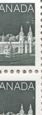 BK100 Sky flaws on 2c stamps