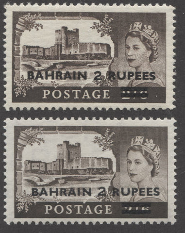 Bahrain type 1 and 3 surcharge