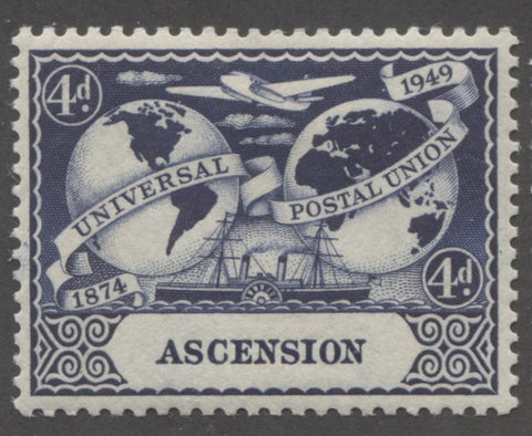 Dark blue 2nd design 1949 UPU Issue