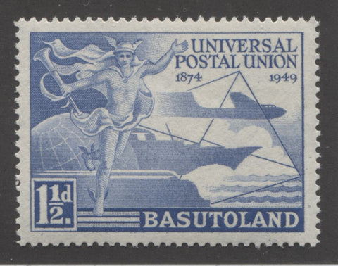Dull Ultramarine - 1st design 1949 UPU Issue