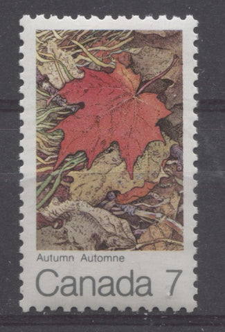 The 1971 Maple Leaf in Autumn Issue of Canada