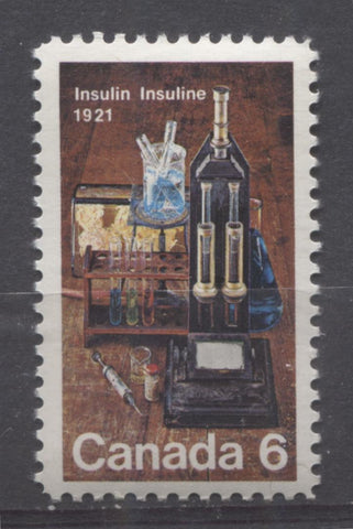 The 1971 Discovery of Insulin Issue of Canada