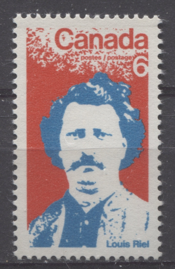 The 6c stamp of Canada honouring Louis Riel from 1970