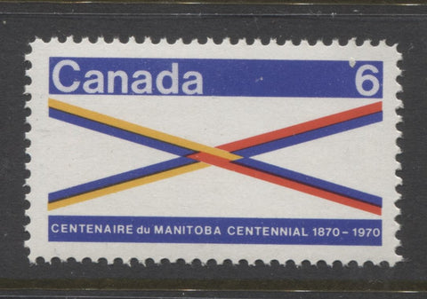 The 1970 Manitoba Centennial stamp of Canada