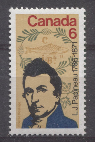 The 1971 Death Centenary of L.J Papineau Issue of Canada