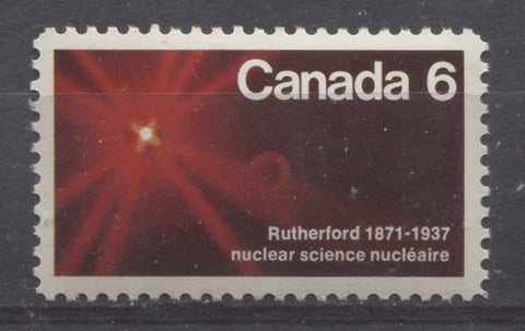 The 1971 Ernest Rutherford Issue of Canada