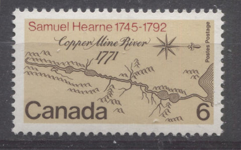 The 1971 Samuel Hearne Issue of Canada