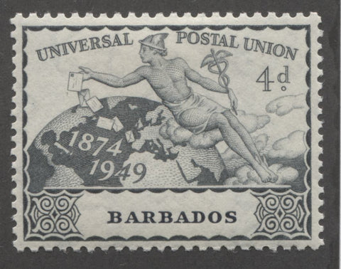 Slate 3rd design 1949 UPU issue