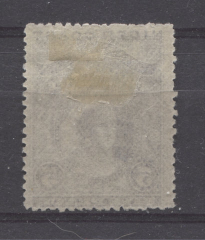 Thin, Hard vertical wove paper from the 1894 Waterlow Issue of Niger Coast Protectorate