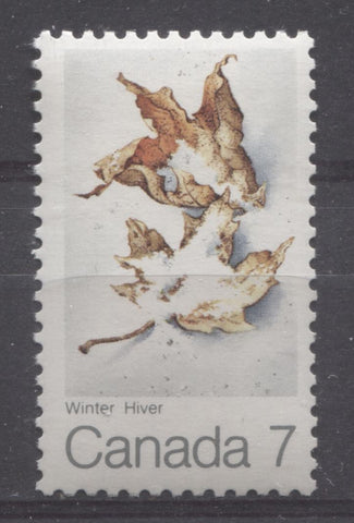 The 1971 Maple Leaf In Winter Issue of Canada