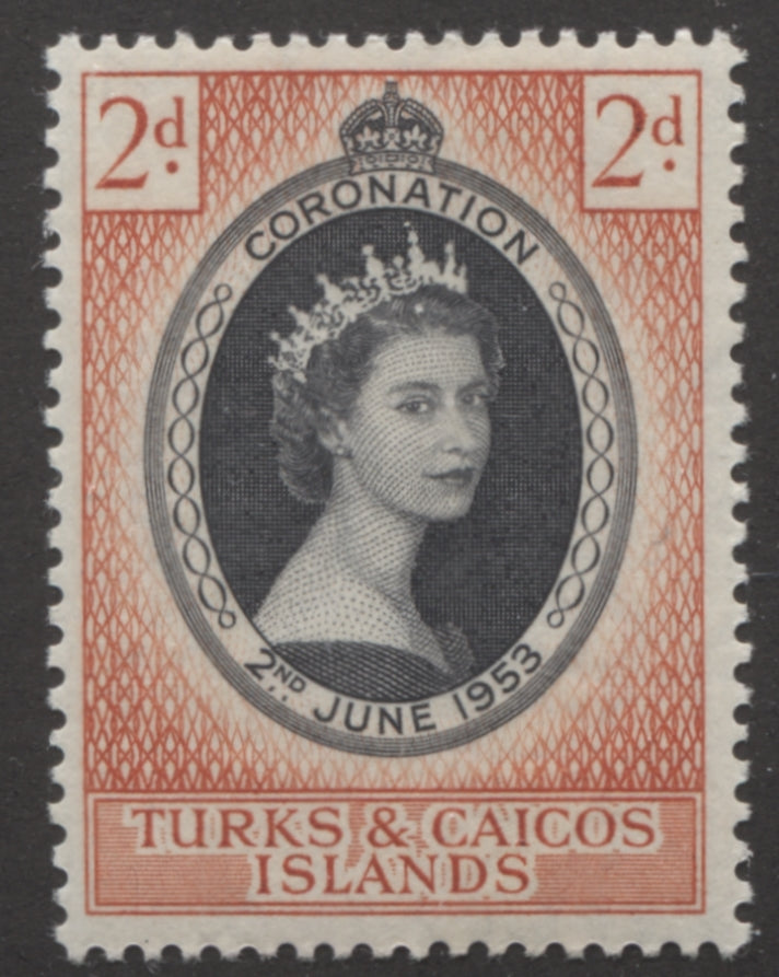 The 1953 Coronation Issue of Turks and Caicos Islands