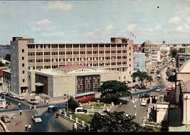 Old picture of the central bank of Nigeria