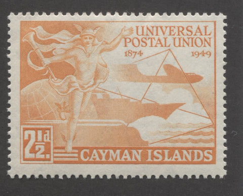 Orange 1st design 1949 UPU issue