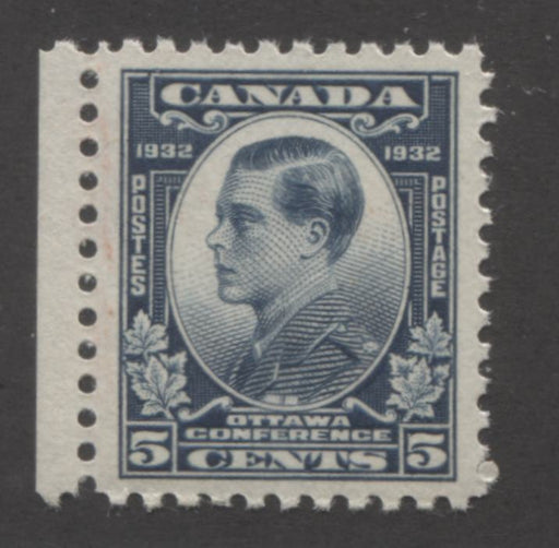 Canada #193 (SG#316) 5c Steel Blue 1932 Ottawa Conference Yellowish Cream Gum VF-84 NH