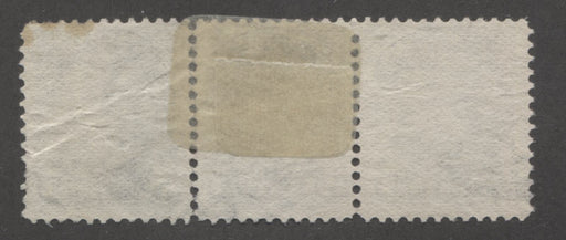 Canada #42 5c Brownish Grey Small Queen A Fine Used Strip of Three of the Second Ottawa Printing