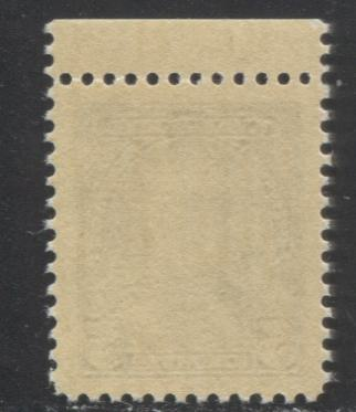 Canada #221 5c Steel Blue King George V, A VFNH Example, on Smooth Vertical Wove Paper With Yellowish Cream Gum