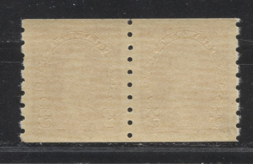 Canada #240 3c Carmine King George VI 1937-1942 Mufti Issue Very Fine Mint NH Coil Pair on Horizontal Wove Paper