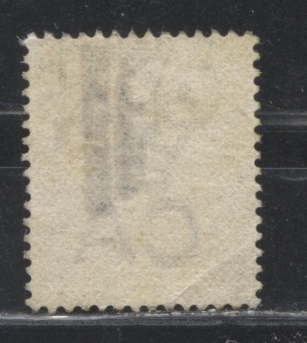 Gold Coast #10 (SG#9) 1/2d Olive Yellow Queen Victoria, 1883 Crown CA Keyplate Issue, Comb Perf. 14, a Fine Used Example