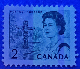 Canada #35i 1c Yellow Queen Victoria, 1870-1897 Small Queen Issue, Three Very Fine or Fine Used Examples of the Mid to Late Montreal Printing, Each a Different Shade or Paper, Perf. 12, Cancelled With Different Fancy Cancellations