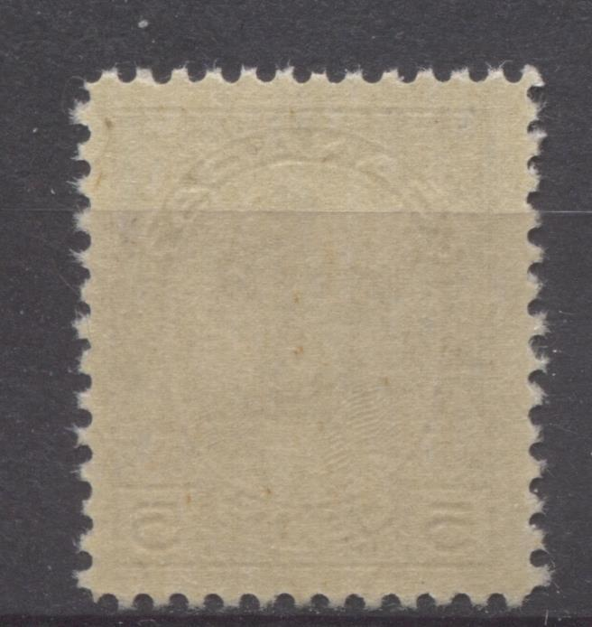 Canada #146 (SG#271) 5c Deep Dull Purple McGee 1927 Historical Issue Fine Mesh Paper VF-78 NH Brixton Chrome