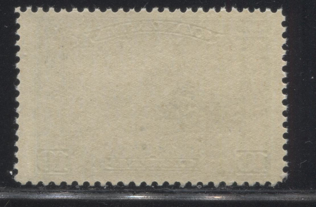 Canada #155 10c Green Mount Hurd, 1928-1929 Scroll Issue, Very Fine Appearing, But Fine NH Single Brixton Chrome