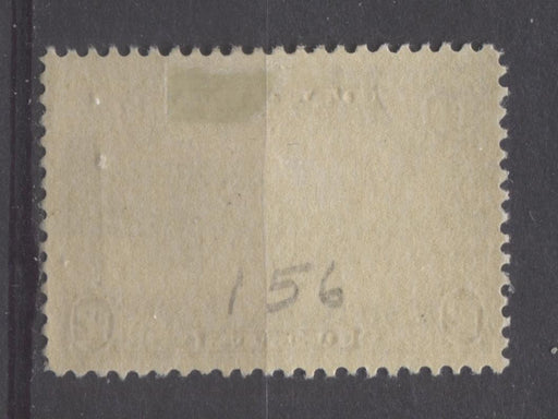 Canada #156 (SG#282) 12c Greenish Black Quebec Bridge 1928 Scroll Issue VF-84 OG Brixton Chrome