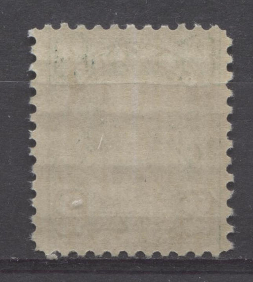 Canada #164 (SG#290) 2c Dark Yellowish Green King George V 1930-35 Arch Issue Cream Gum VF-75 OG Brixton Chrome