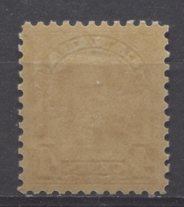 Canada #168 (SG#294) 4c Deep Yellow Bistre King George V 1930-35 Arch Issue Coffee Coloured Gum Coloured Gum VF-84 OG Brixton Chrome