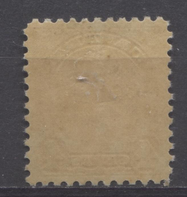 Canada #168 (SG#294) 4c Pale Yellow Bistre King George V 1930-35 Arch Issue Deep Cream Gum VF-84 OG Brixton Chrome