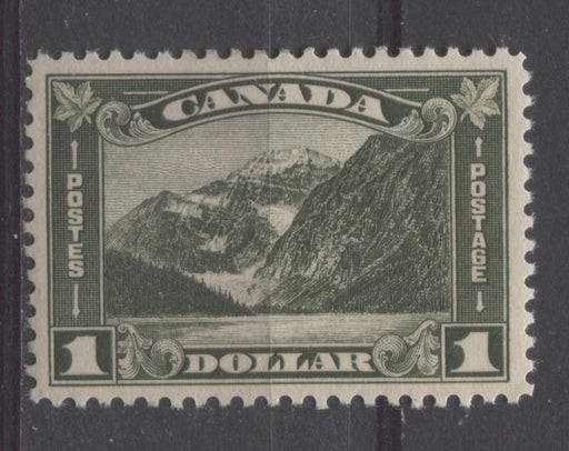 Canada #177 (SG#303) Deep Grey Olive Mt. Edith Cavell 1930-35 Arch Issue Cream VF-84 OG Brixton Chrome