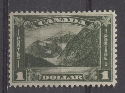 Canada #177 (SG#303) Deep Olive Mt. Edith Cavell 1930-35 Arch Issue Cream Gum VF-84 OG Brixton Chrome