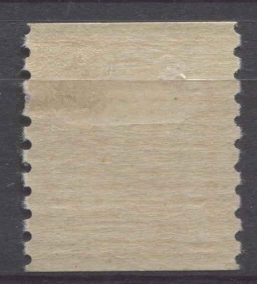 Canada #178 (SG#304) 1c Pale Bright Orange 1930-32 Arch Issue Coil Cream Gum VF-75 OG Brixton Chrome